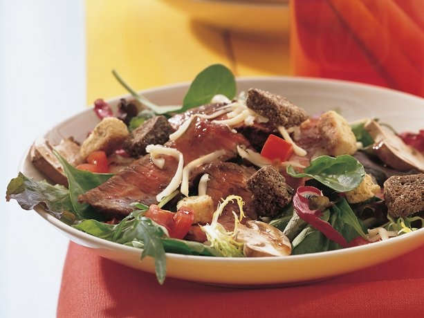 Grilled Balsamic Beef Salad | Recipe