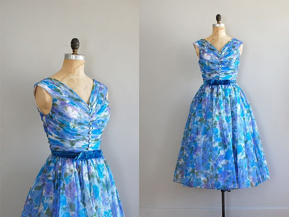 vintage 1950s Lighter Than Air dress | Fabulous Vintage Fashions | Pi ...