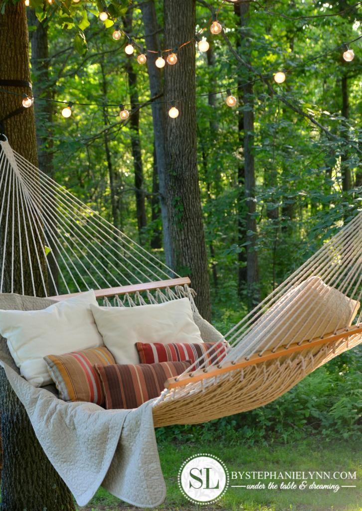 Hammock Backyard : Backyard hammock