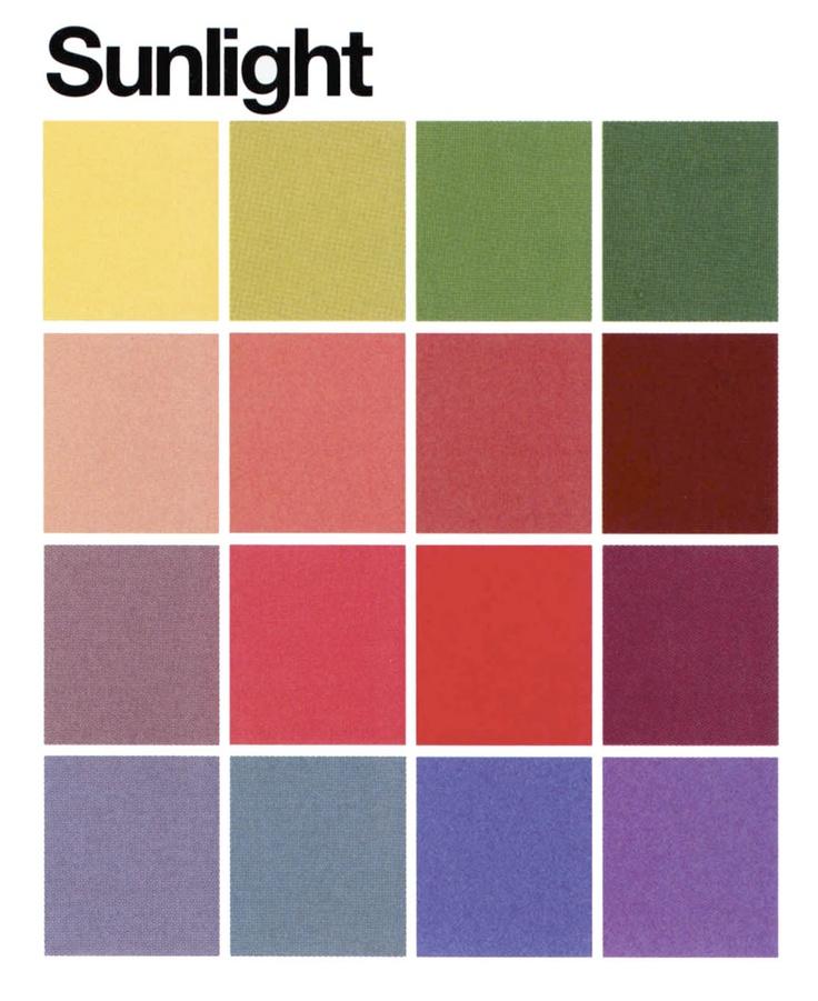 Sunlight color palette.