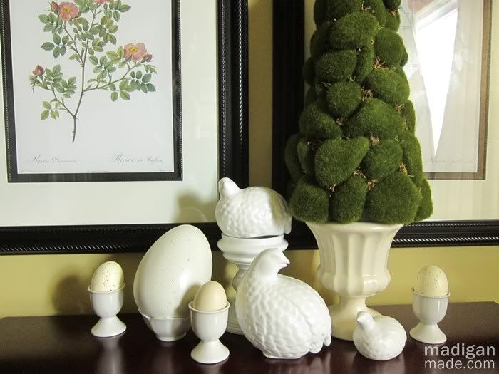 Simple Easter Decor With Eggs Easter Pinterest