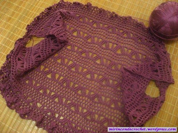Boleros « Mi Rincon de Crochet | Crochet | Pinterest