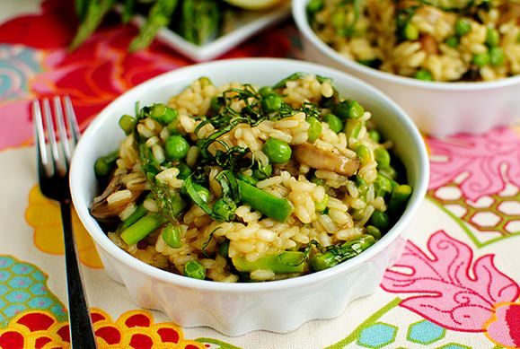 Lighter Spring Risotto | Vegetable and Fruit Recipes | Pinterest