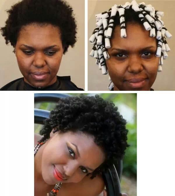 Perm Rods On Natural Hair