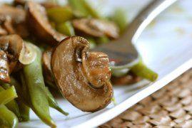 Shiitake Mushroom Recipe Asian Style Green Beans and Mushrooms! Quick ...