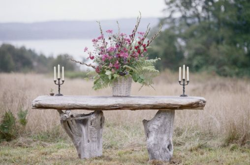 Creative ways to use a tree stump garden pinterest for Tree trunk uses