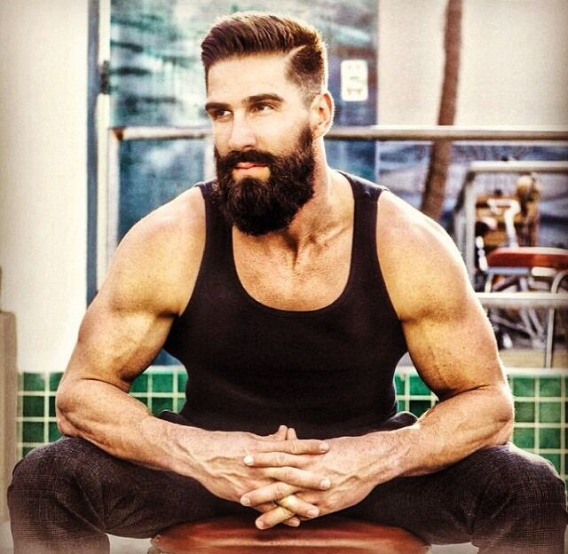 Follow him on instagram @danzbeard | Hot beards | Pinterest