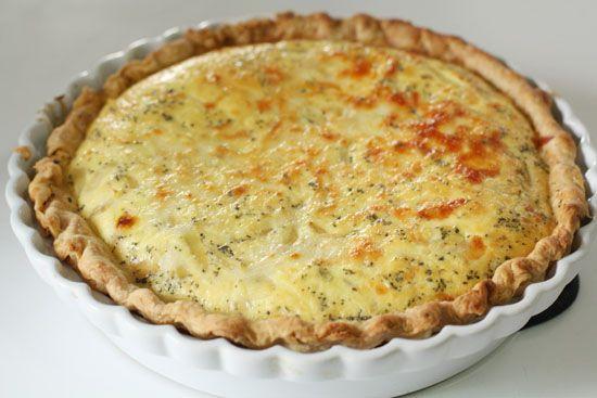 Caramelized Onion Quiche | Recipe