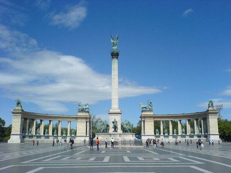 Hosok Tere Budapest Budapest Hungary Pinterest
