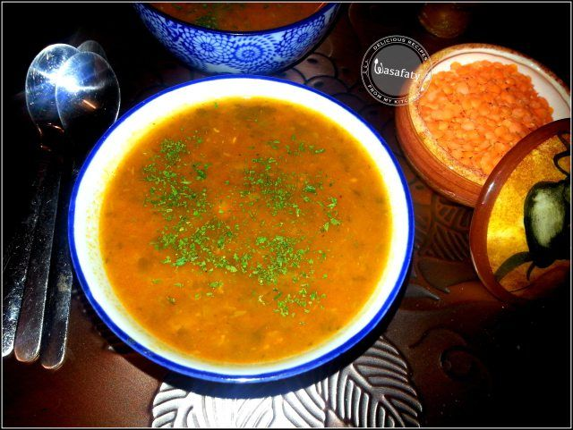 Harira (Moroccan Soup) | Food and Drink | Pinterest