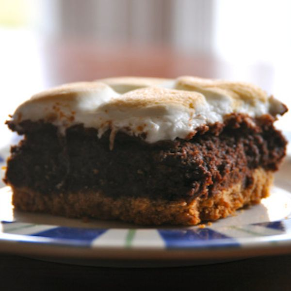 S'mores Brownie Bars Recipe — Dishmaps