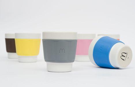 Mcdonald's reusable cup called Tasse by Patrick Norguet