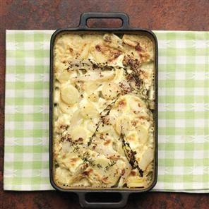Parsnip and Jerusalem artichoke bake | Veg - Carrots / Parsnips / Rut ...