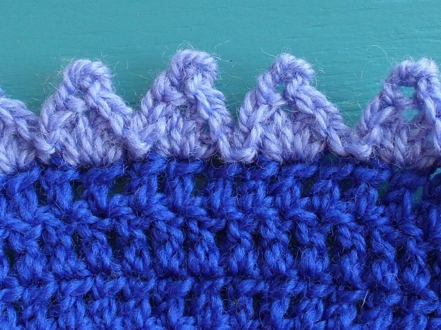 Crocheting Edges : Crochet edging tutorial