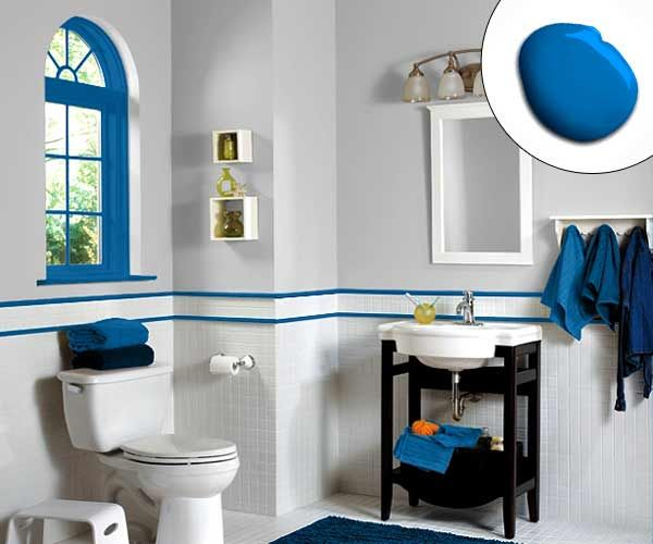 Bathroom ideas paint