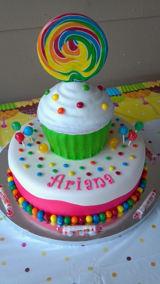 Candy Themed Birthday Cake JYJ Creations and More Odessa, Tx