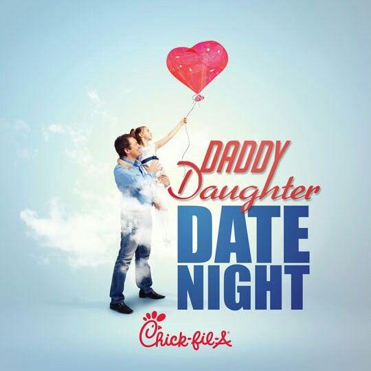 Chick fil a daddy daughter date night in Australia