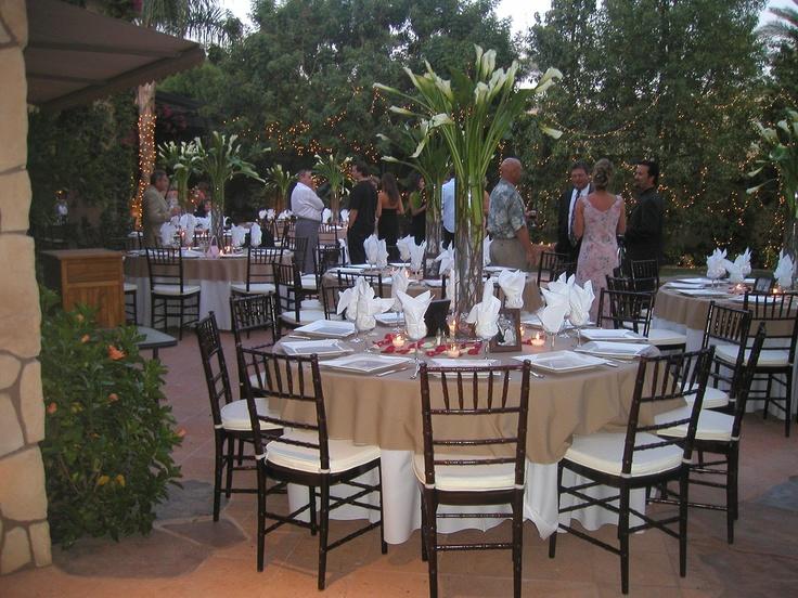 Mahogany chiavari chair wedding set up wedding table ideas pinter