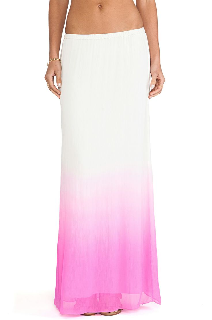 By Malene Birger Tamusa Skirt in Starlet Pink from REVOLVEclothing