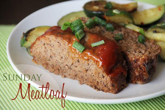 Lovely Little Snippets: Sunday Meatloaf | Food | Pinterest