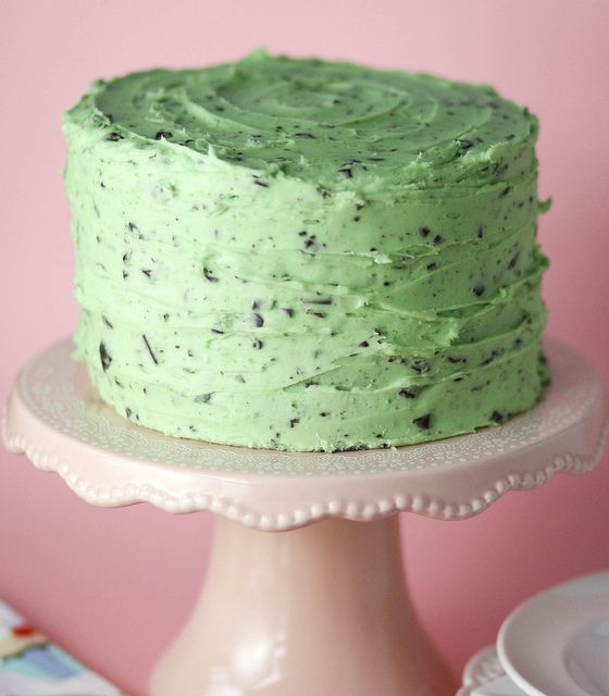 Mint Chocolate Chip Cake {No. 8} Recipe Hearth Weekly Top 10 http ...