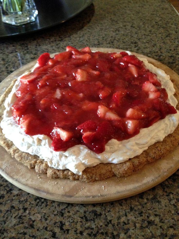 Strawberry Dessert Pizza Recipe — Dishmaps