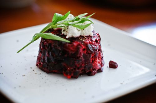 Beet tartare | beautiful things | Pinterest