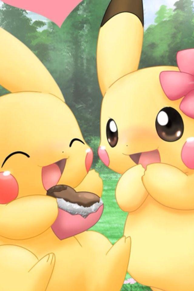 cute pikachu couple pokemon - photo #6