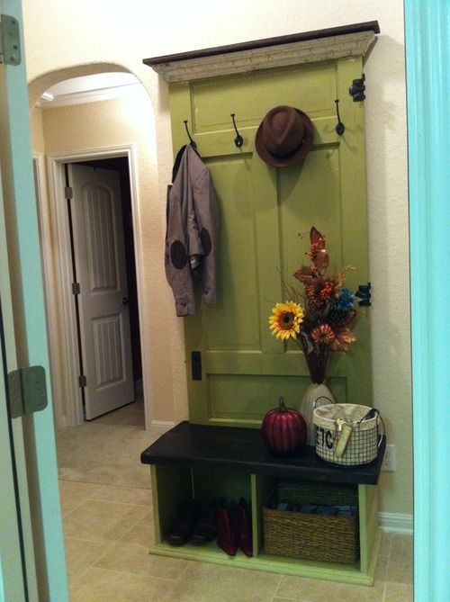 Rbrtuh   DIY: Entryway bench that I made, inspired by a pin!!