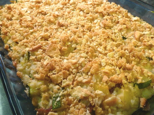 Zucchini and Rice Gratin from Real Cajun | Food FOOD Food | Pinterest