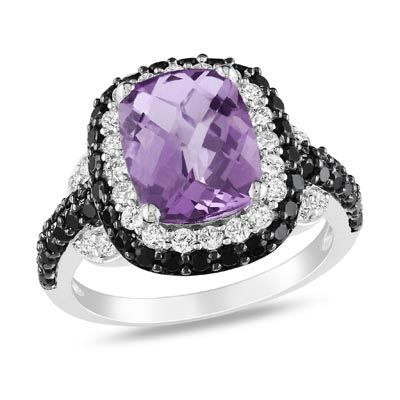 Amethyst ring by Zales
