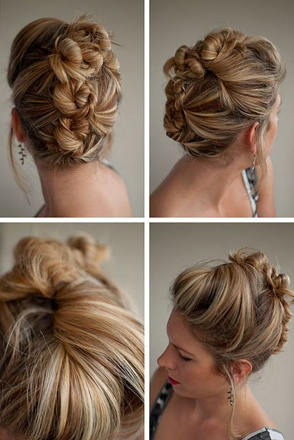 Prom Hair. We love this style!