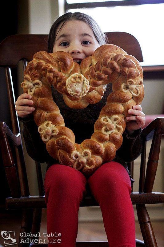 Braided Heart Bread | Pleteno Srce | Recipe