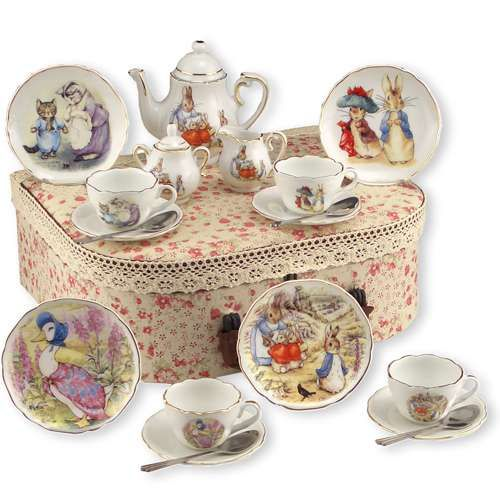 Peter Rabbit dishware! I Miss tea parties with our granddaughters! We have this set!