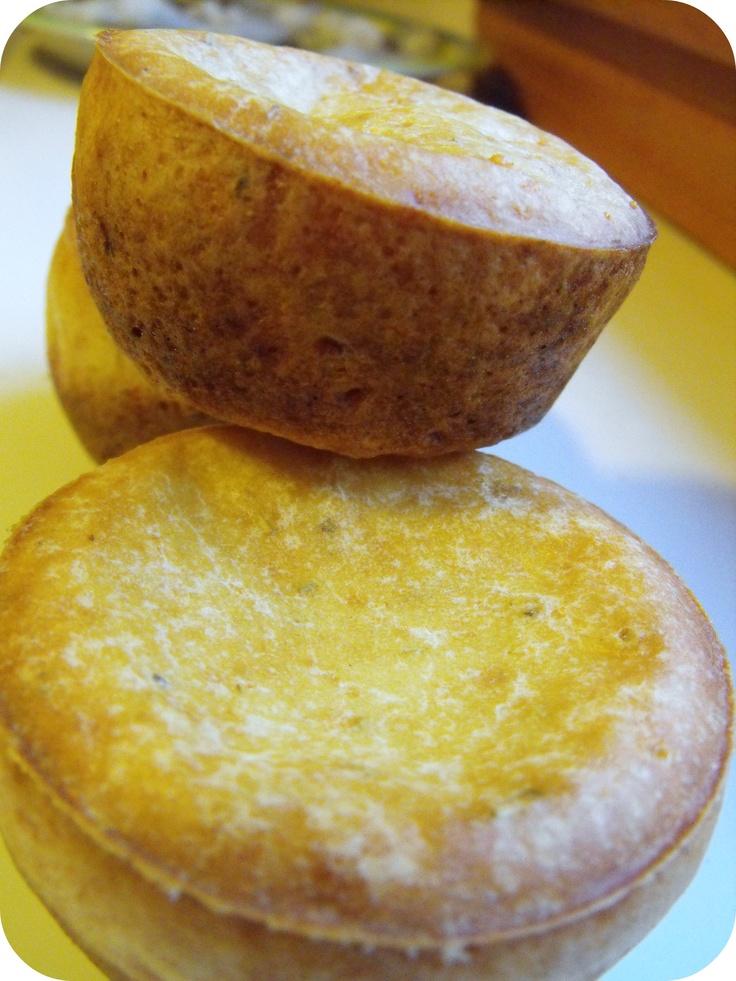 Cheesy Rosemary Popovers | Wholesome RD Cheesy Rosemary Popovers | Let ...