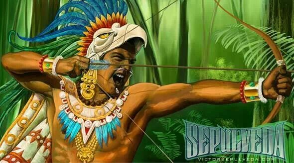 Aztec warrior | Mexico te amo | Pinterest
