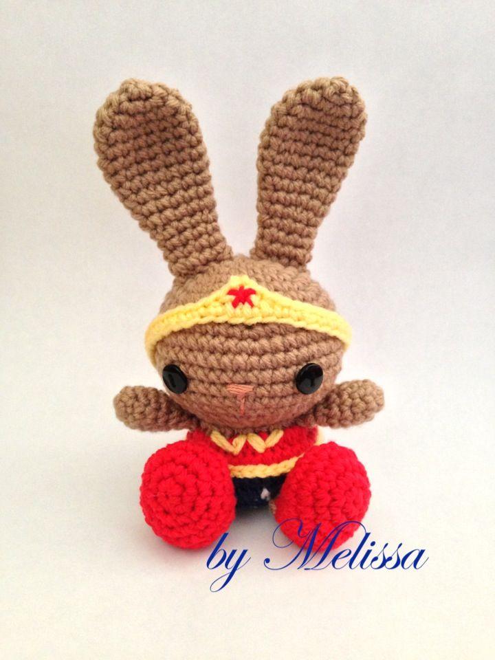 Amigurumi Wonder Woman : Amigurumi Wonder Woman Bunny CRAFTS - Crochet ...