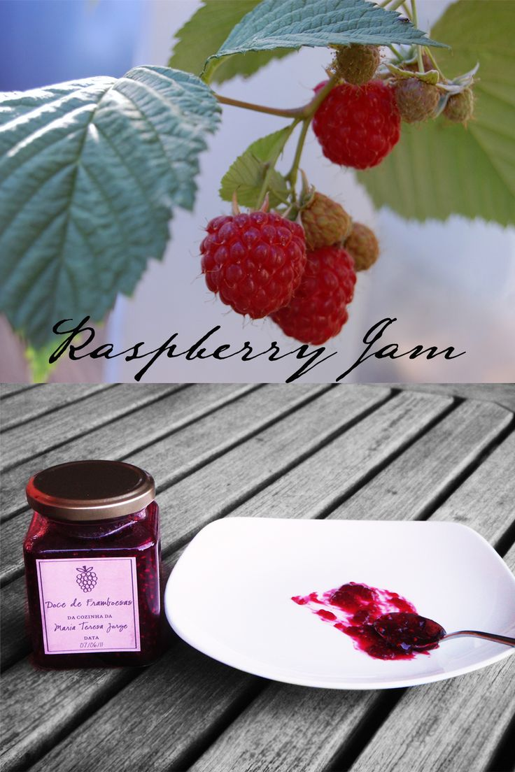 Ruby Red Raspberry Jam (low sugar)