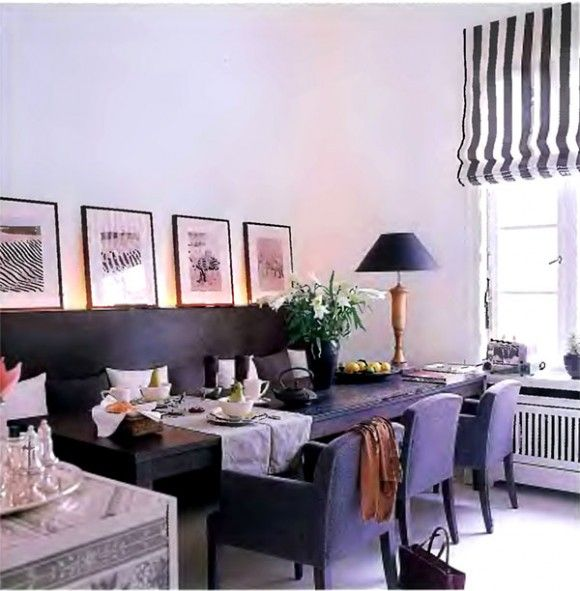 Dining Room With Banquette Dining Room Pinterest