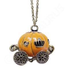 Cinderella Pumpkin Carriage Necklace