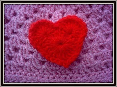 Crochet Heart Tutorial - YouTube All Things Crocheted ? ? Hearts ...