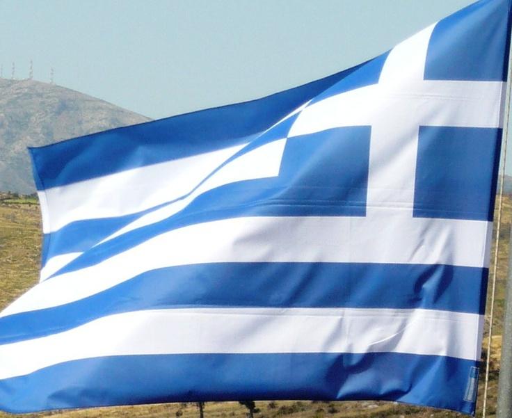 flags greece