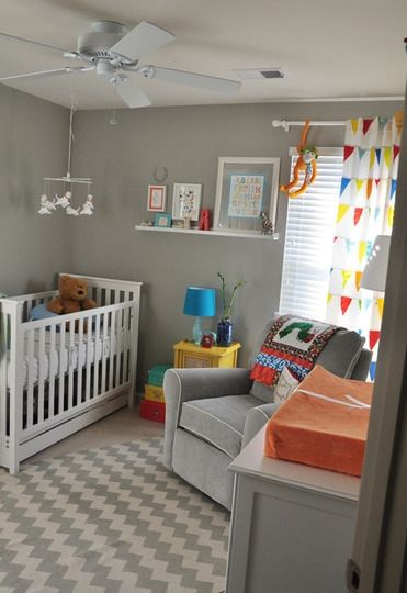 Sherwin williams mindful gray on the walls baby-nursery-ideas