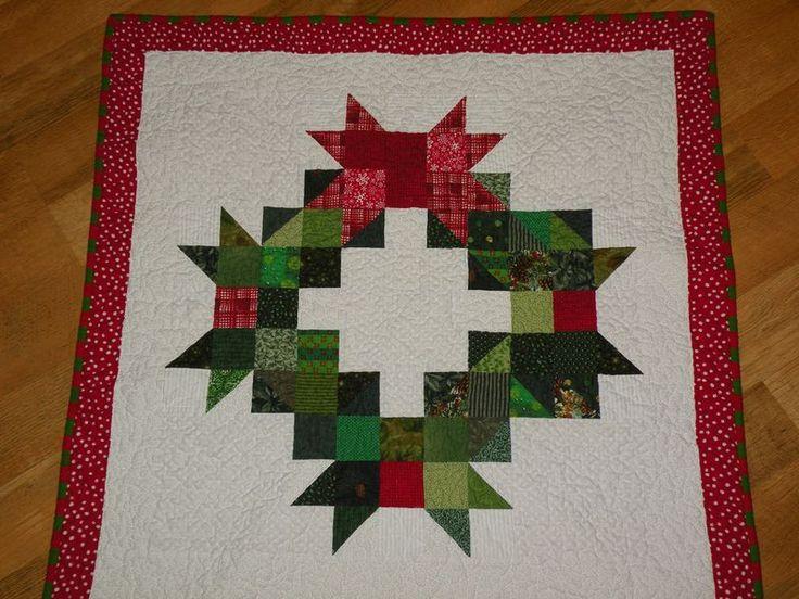 Quilt Pattern For Christmas Wreath : Pinterest