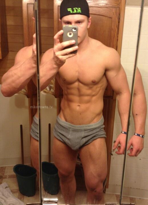 Selfie Gym Locker Room