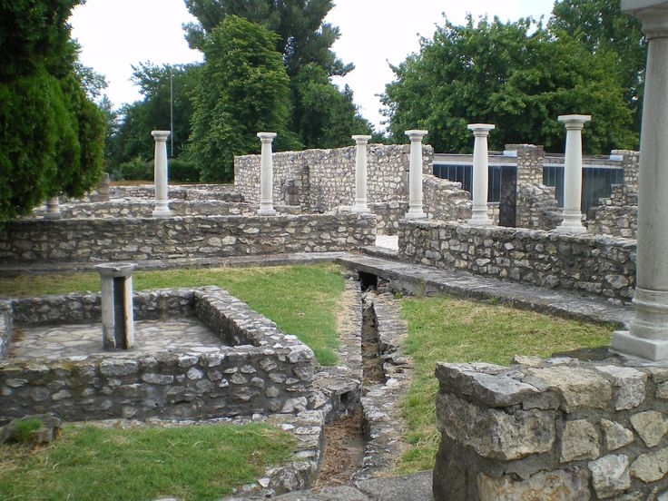 #Aquincum, a #Roman city in the Pannonia Province, located in modern-day #Budapest.