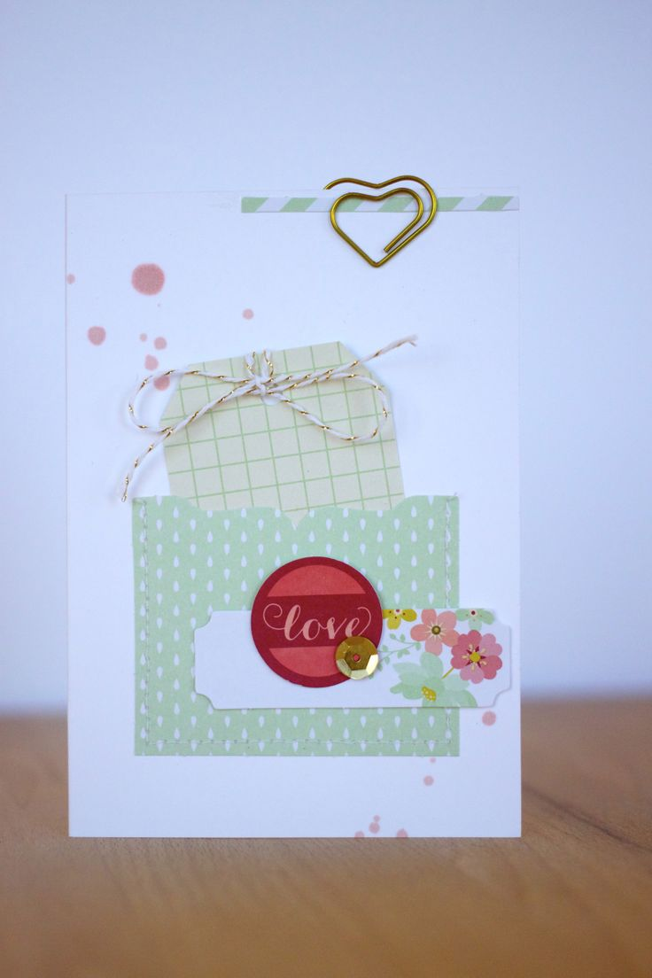 Love this alternate use for the elements of the Mini Memories Simply Created Album Kit
