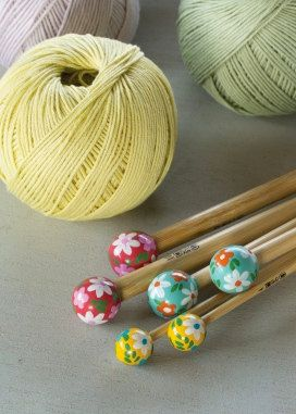 Knitting Needles: 4.5mm - Knitting patterns, yarns
