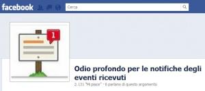 Se facebook muore le notifiche degli eventi sono il maggiordomo