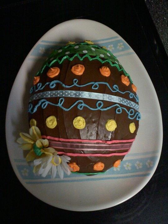 Easter Egg Cake! | Crafts! | Pinterest